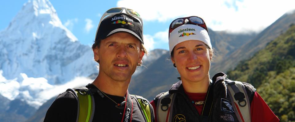 O Simone Moro με την Tamara Lunger