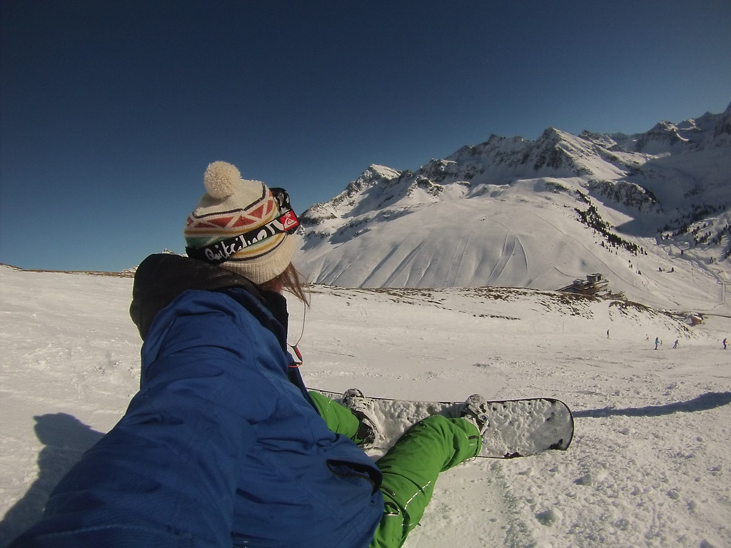 Snowboarding in Kuhtai #snowboard #snow #sun #wintersport #kuthai #austria #r2s