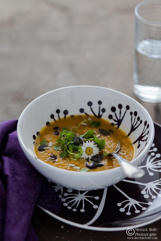 Pumpkin Persimmon Soup (0041)