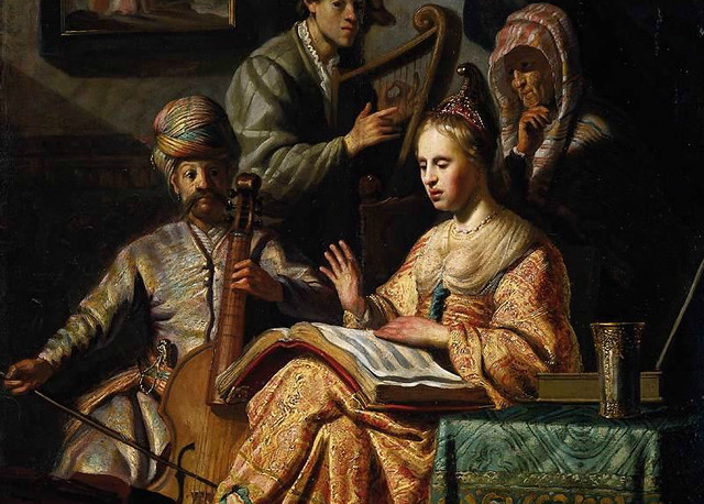 Rembrandt_-_The_Music_Party_-_WGA19249