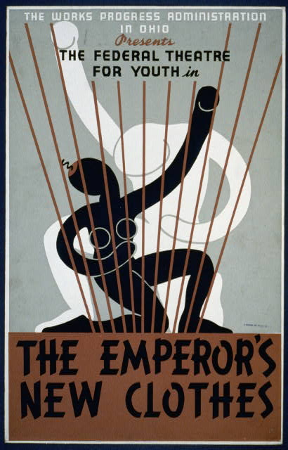 "The Works Progress Administration in Ohio presents The Federal Theatre for Youth in ""The emperor's new clothes"" LCCN98517057"