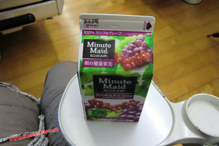 CIMG1047 Zumito  para desayunar en el Limited express Sonic (Fukuoka-Beppu) 13-07-2010 copia
