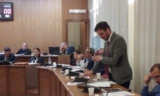 Giuseppe Nitti consiglio comunale aprile 2016