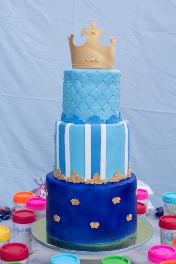 Royalty Themed First Birthday Cake by Krispee's SweetSINsation - Kristille Ariete