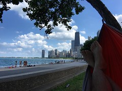 My happy place today... #kammok #lakemichigan #chicago #consolation #sabbath