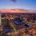Newark At Sunset