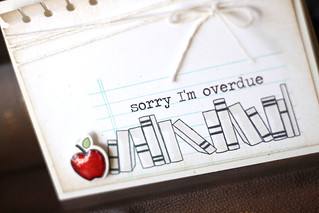 sorry I'm overdue