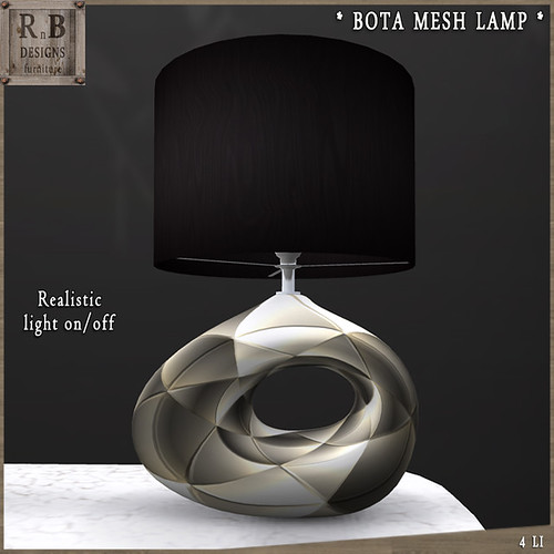PROMO ! *RnB* Bota Mesh Lamp 9 (copy)