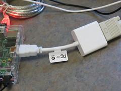 RaspberryPi HDIM-VGA Adapter