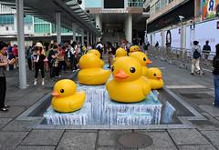RUBBER DUCK X TRICKART @HARBOUR CITY HK