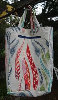 Knitting bag back