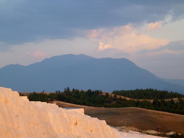Turquie - jour 12 - De Kas à Pamukkale - 222 - Château de coton