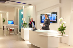 interior design, receptionist, office,