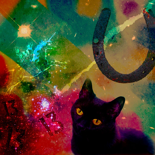 music abstract black color art sign rock collage digital cat project star photo lyrics artist arty journal band surreal manipulation fanclub indie deviant 365 concept 13 songs astrology superstitious teenage