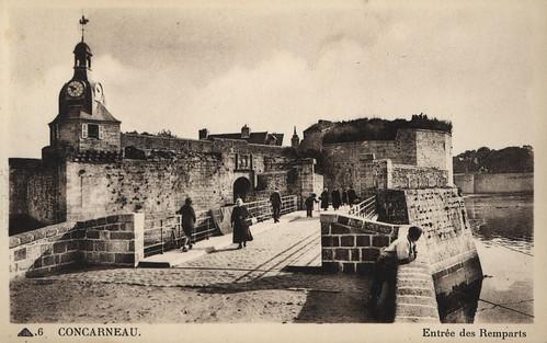 L'entrée des remparts