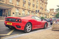 ferrari f355(0.0), ferrari f430(0.0), race car(1.0), automobile(1.0), vehicle(1.0), performance car(1.0), automotive design(1.0), ferrari f430 challenge(1.0), ferrari 360(1.0), ferrari s.p.a.(1.0), land vehicle(1.0), luxury vehicle(1.0), supercar(1.0), sports car(1.0),