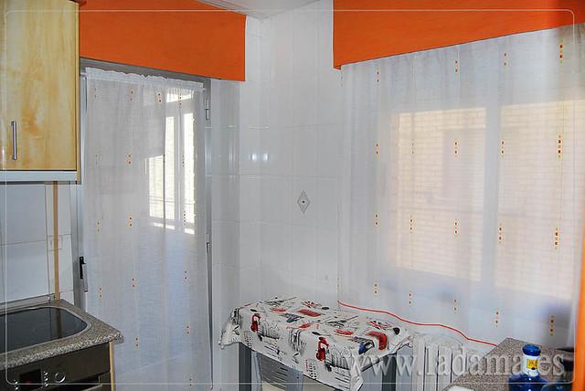 Cortinas de cocina naranjas con bando flickr photo - Cortinas para cocinas ...
