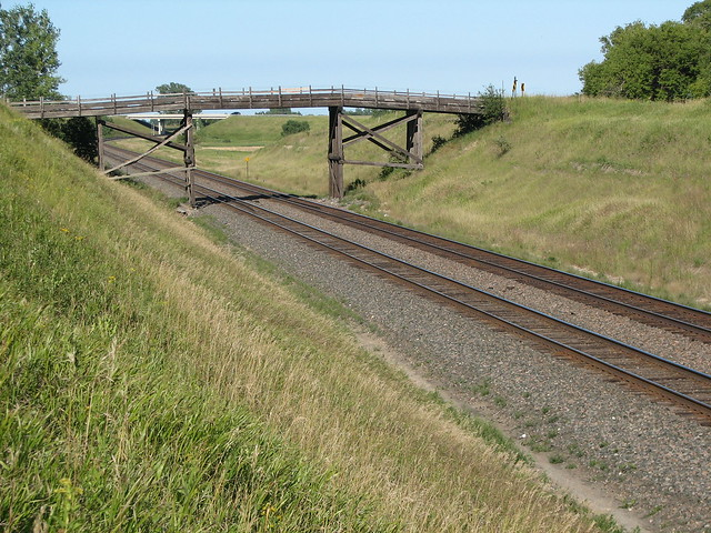 East Wooden Bridge at Hawley
