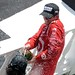 Scott Dixon and Dario Franchitti let loose with the champagne