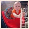 Elliott loves his walker