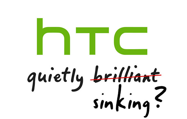 HTC quietly sinking