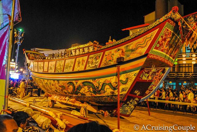 Taiwan's Boat Burning Festival, 2012