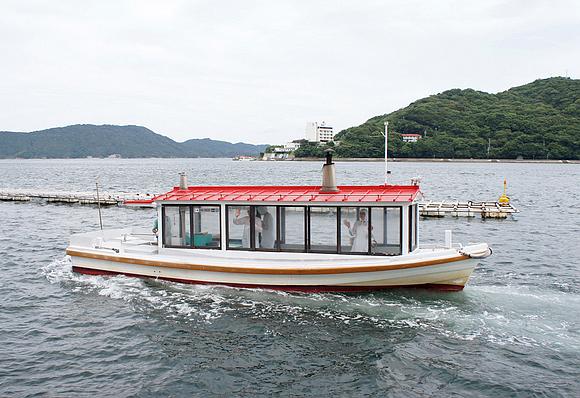 日本海女表演16