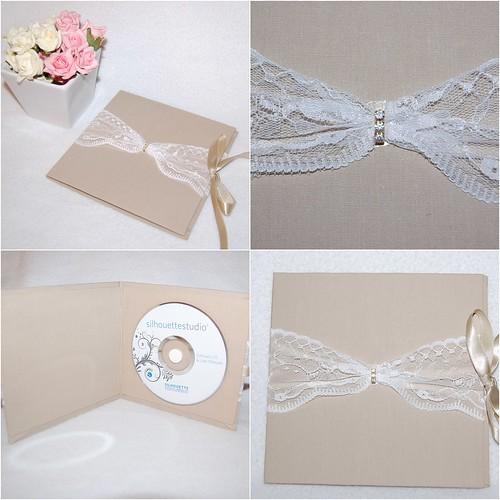 Porta CD /DVD cm strass by LEME´S ARTE / By Helenita Leme