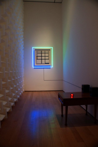 Haroon Mirza, Frame for a Painting