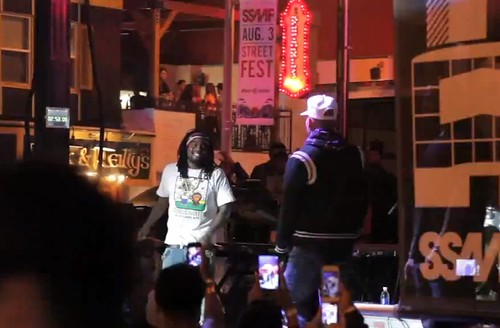 Wale Brings Out Chris Brown At The Sunset Strip Music Festival