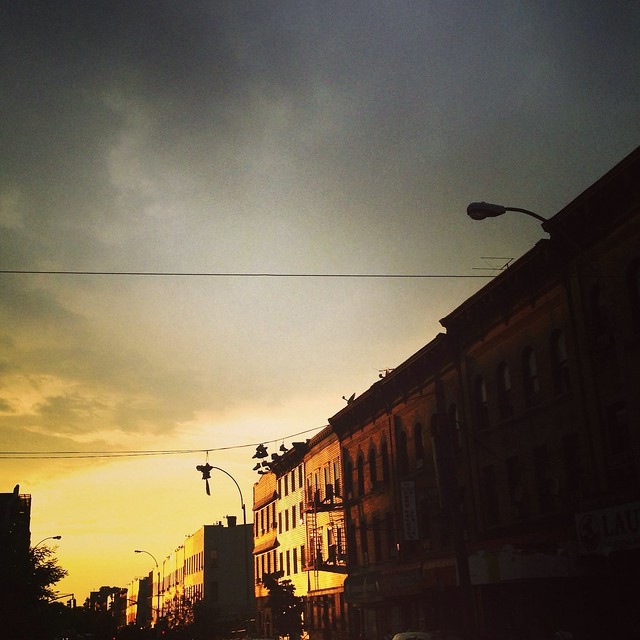 Hood Sunset in Bushwick | Shoeiti