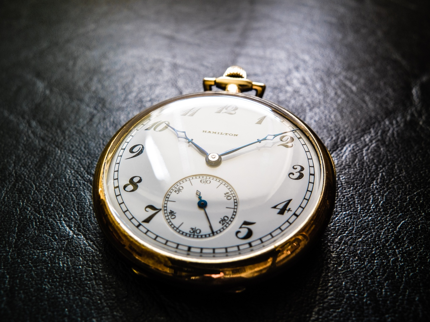 Hamilton 910 Pocket Watch