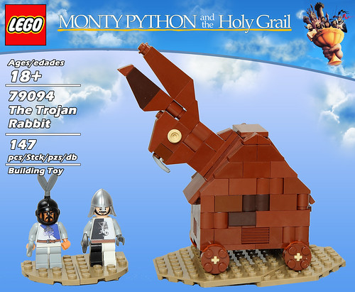 LEGO 79094: The Trojan Rabbit