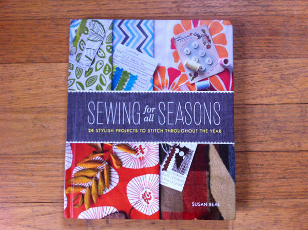 Sewing For All Seasons front cover!