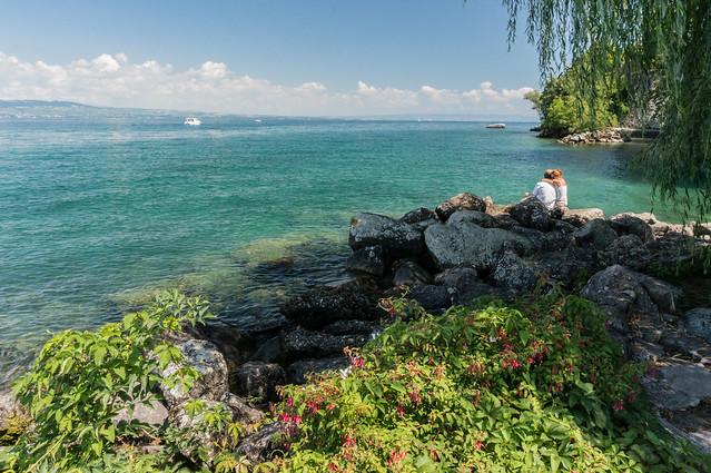Lake Geneva, Yvoire, France