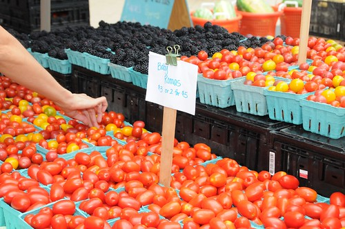 National Farmers Market Week August 3-9 is a perfect time to make a trip to your local market.  Share your favorite part of the farmers market experience by tagging your photos with #FarmMktWk @USDA.
