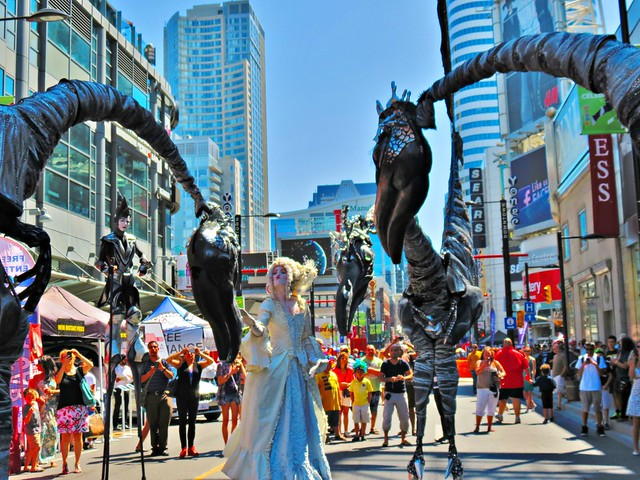 Scotiabank BuskerFest, Toronto, ON