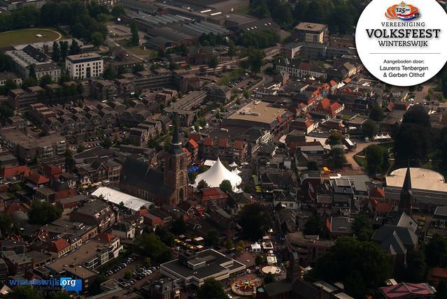 2013-08-30 Luchtfoto's Volksfeest Winterswijk 2013