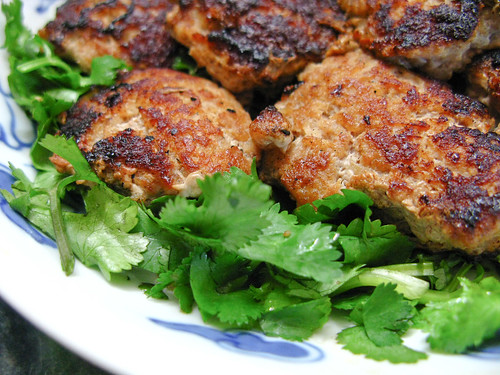 Pan fried pork patty with salted fish chinese for Chinese salted fish
