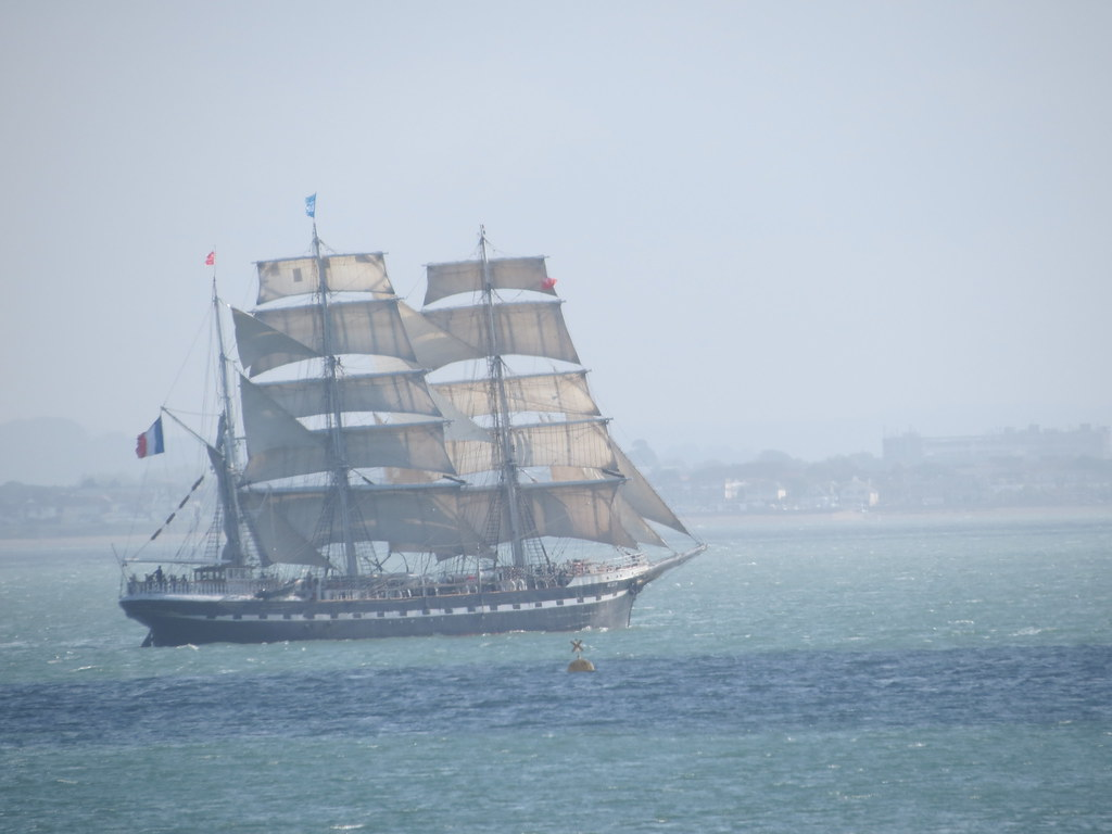 Tall ship Belem off Cowes