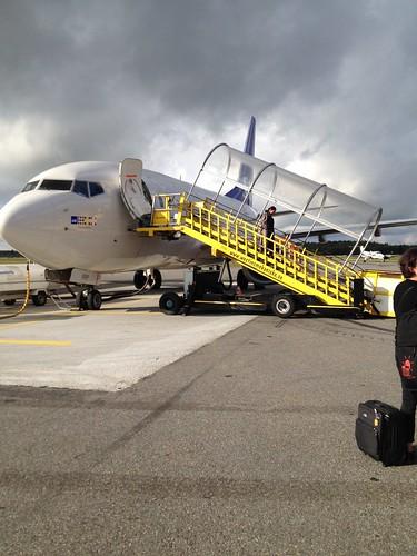 broken plane umea