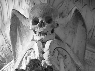 Fotografía del cementerio de Père-Lachaise en Paris
