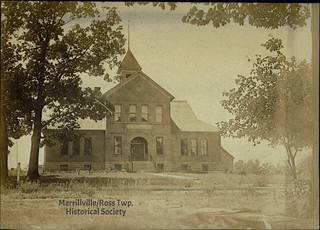 Merrillville School, undated (ca 1902)