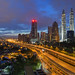 KL City Panorama Sunrise by Nur Ismail Photography