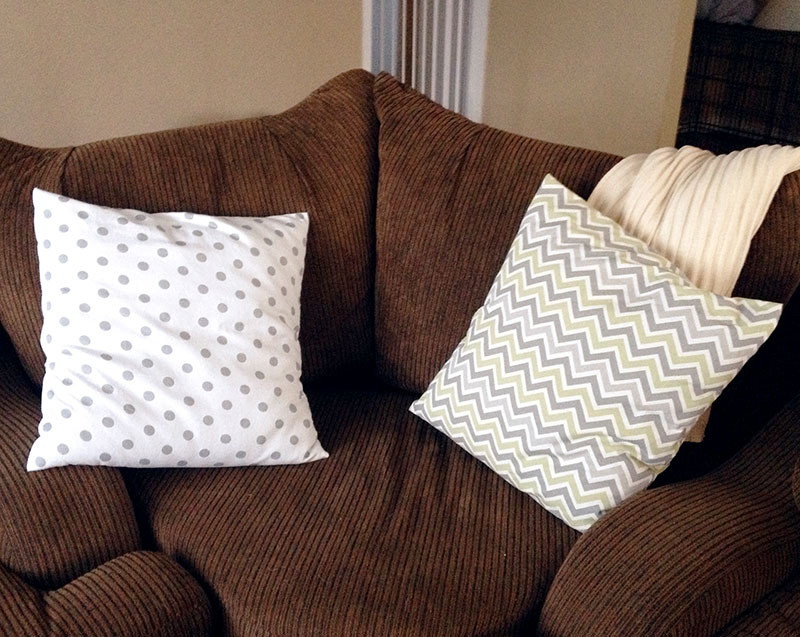 10 Minute Pillow Covers
