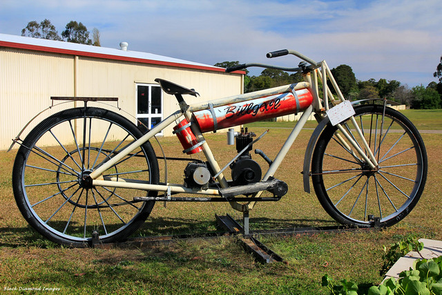 The Big Bike - National Motorcycle Museum, Nabiac, NSW, Australia