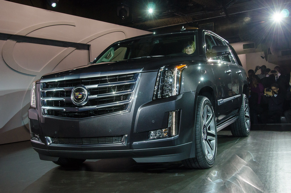 2015 Cadillac Escalade Reveal NYC
