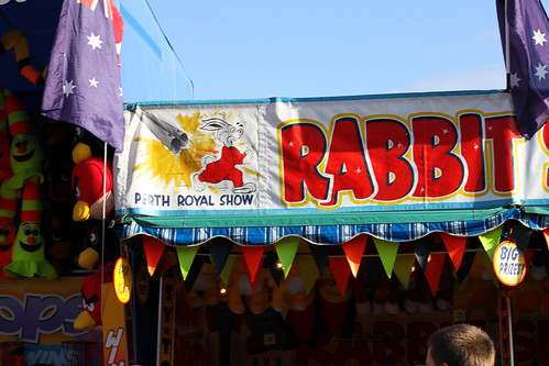 Perth Royal Show 2013 - Rabbit Shooting