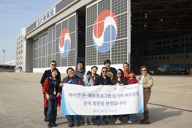Korean Air Building - Korea - Aviation Facility Tour - asian on air blogger-010