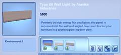 Type 88 Wall Light by Arasika Industries